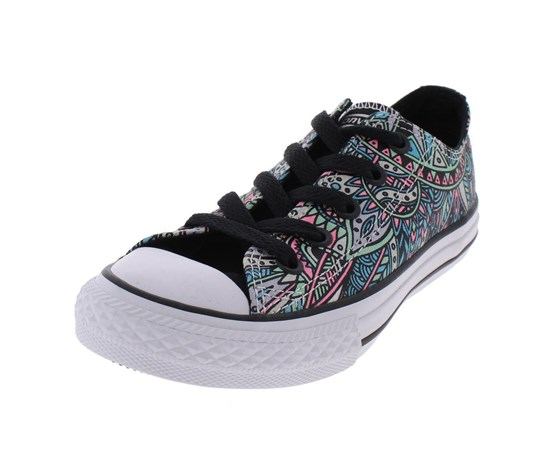 38baa48972 Converse Youth Chuck Taylor All Star Lo Culture Print Sneaker
