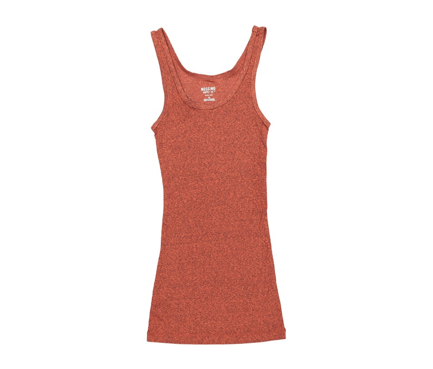 Mossimo Womens Blue Ribbed Tank Top