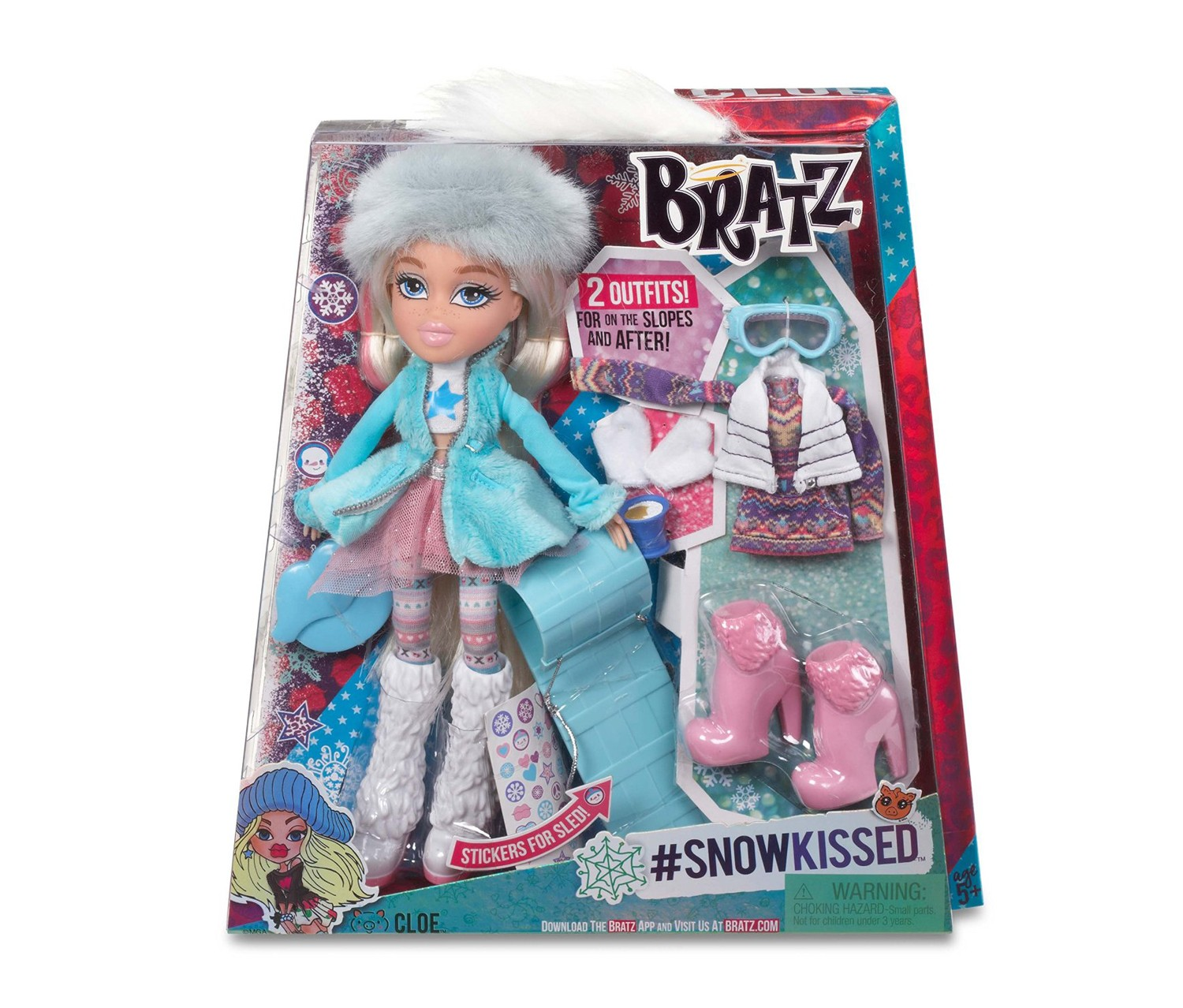 Bratz Snowkissed Cloe Doll Brands For Less
