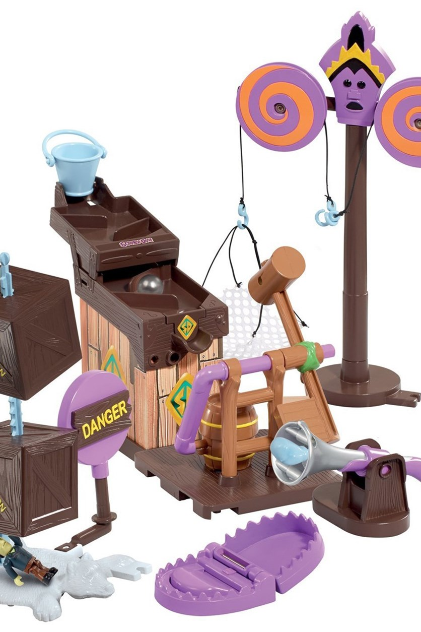 Scooby-Doo Trap Time Fred's Mega Trap Building Kit