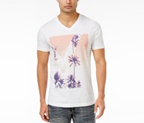 International Concepts Mens Summer Dreams Graphic, White Pure
