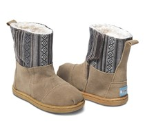 Toms Tiny Nepal Boot, Sand Suede Mix