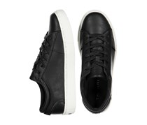 Tahari Men Lace Up Shoes, Black/White