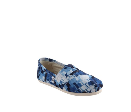 27e27465f90 Shop Toms Women s Ink Satin Paint Print Shoes for Women Shoes in ...