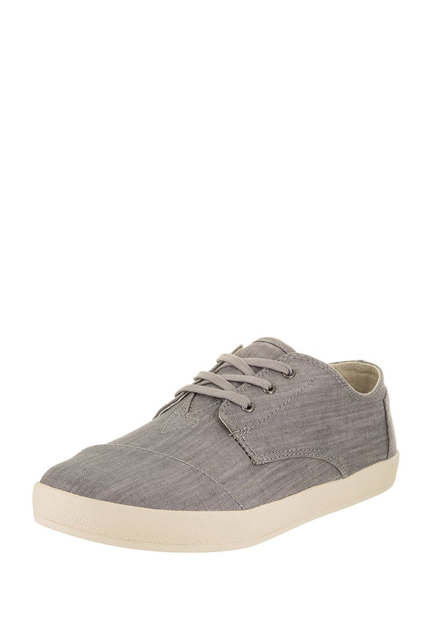 Toms Men's Paseo Canvas Sneaker, Grey Denim