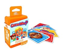 Shuffle Guess Who Card Game, Orange