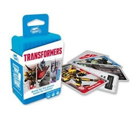 Hasbro Gaming Shuffle Transformers App & Card Game, Blue