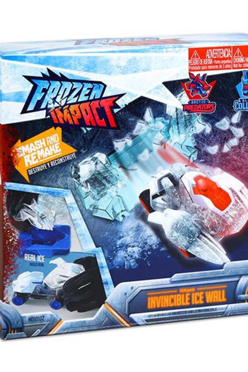 Frozen Impact Skill Pack Invicible Ice Wall, Blue/Red