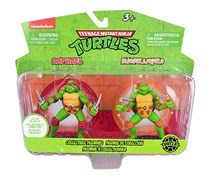 Teenage Mutant Ninja Turtles Figurines, Red/Orange