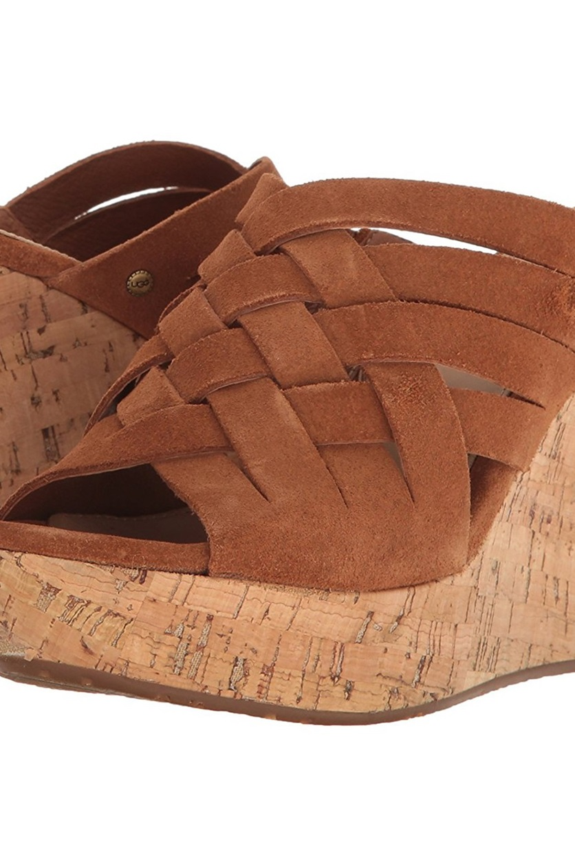 9f2dfc69cc7 Shop UGG UGG Marta Wedge Sandals, Chestnut for Women Shoes in United ...