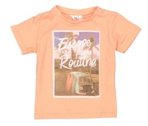 Lefties Toddler's Escape From Routine Shirt, Light Orange