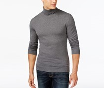 Black Turtleneck Sweater, Night Grey