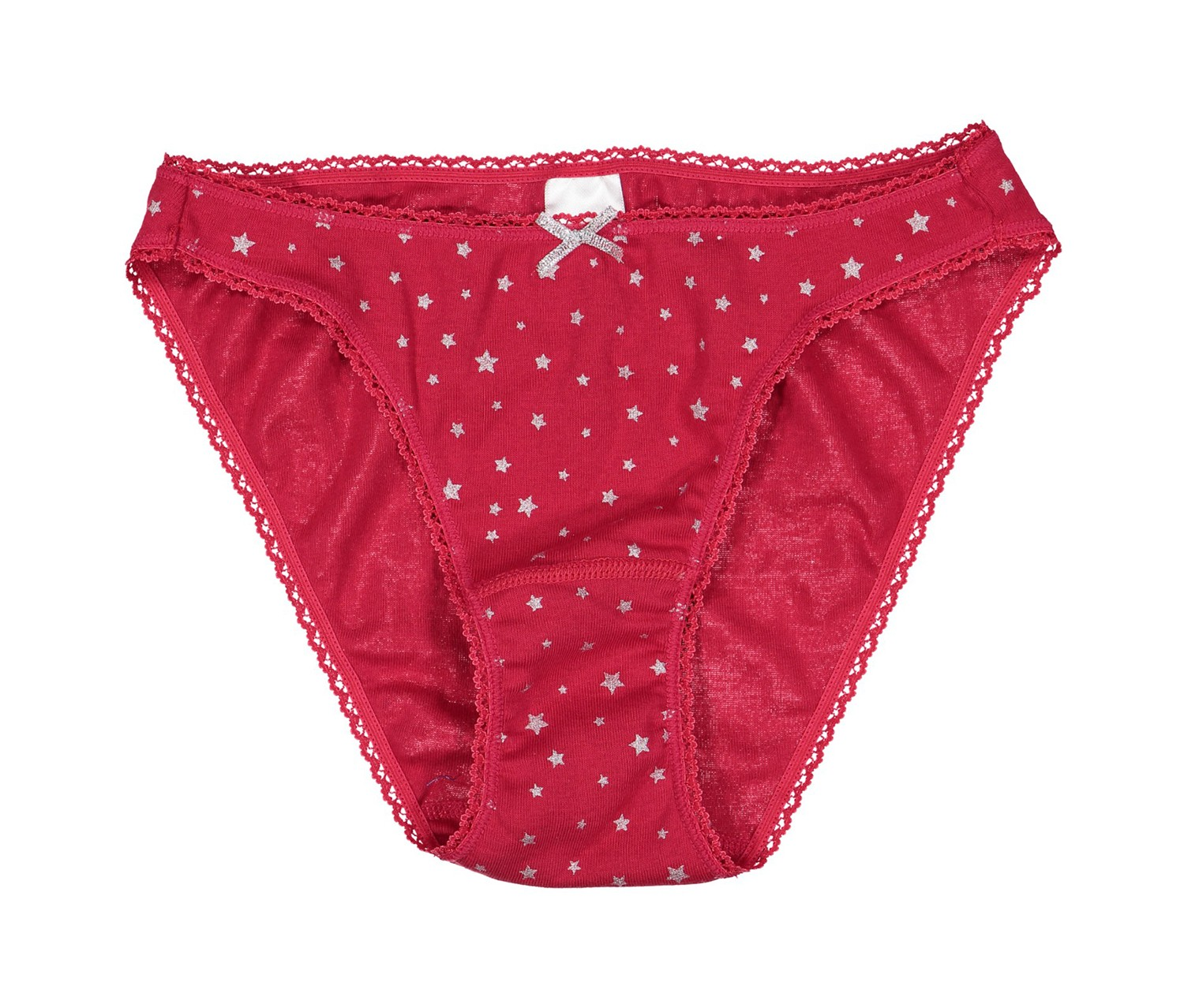 Charter Club Pretty Cotton Bikin, Red Stars