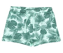 Lefties Baby Girl Allover Print Swim Short, Green