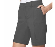 32 Degrees Cool Ladies Cargo Shorts, Gray