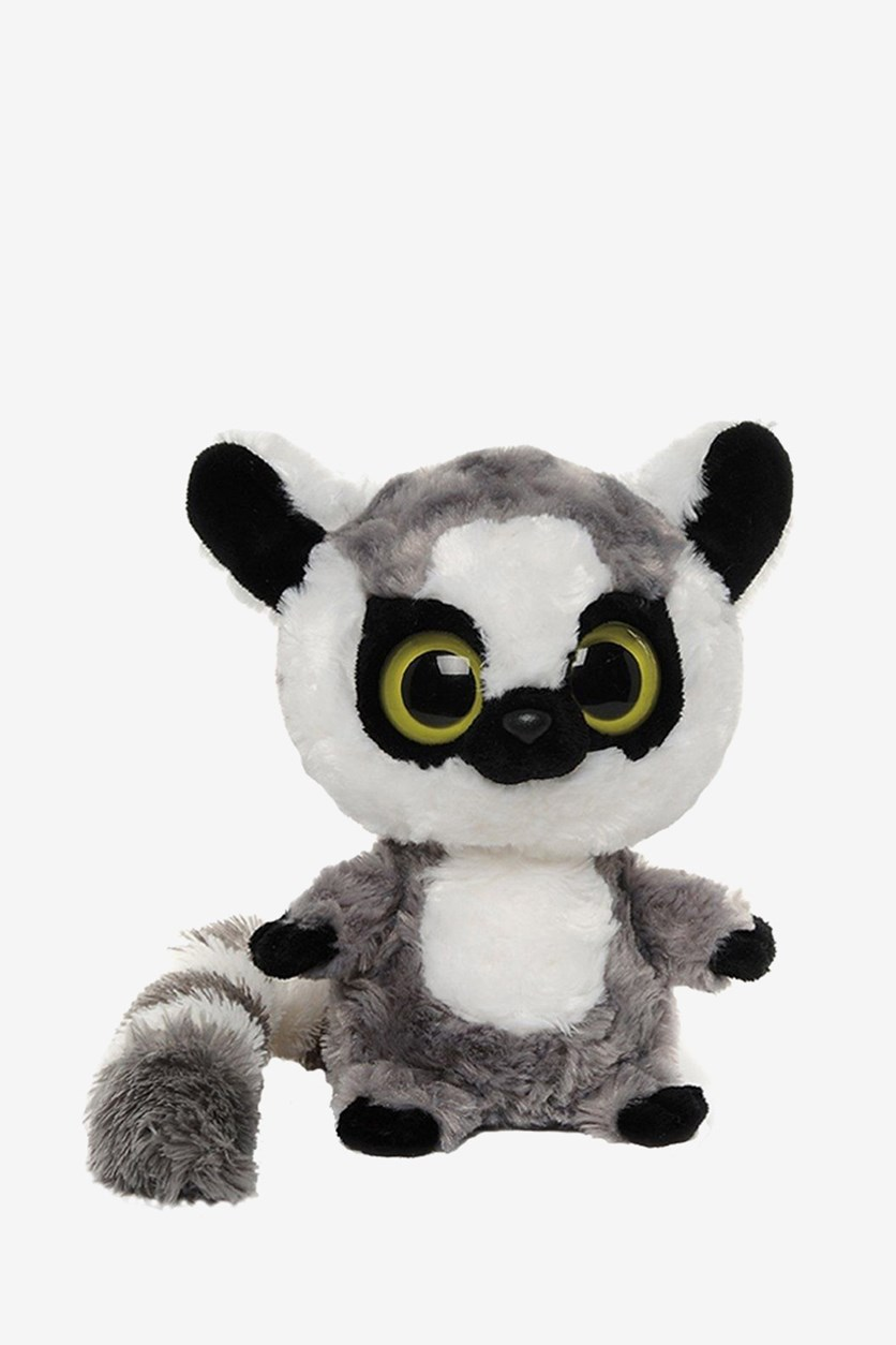 Yoohoo & Friends Lemur Soft Toy, Grey/White