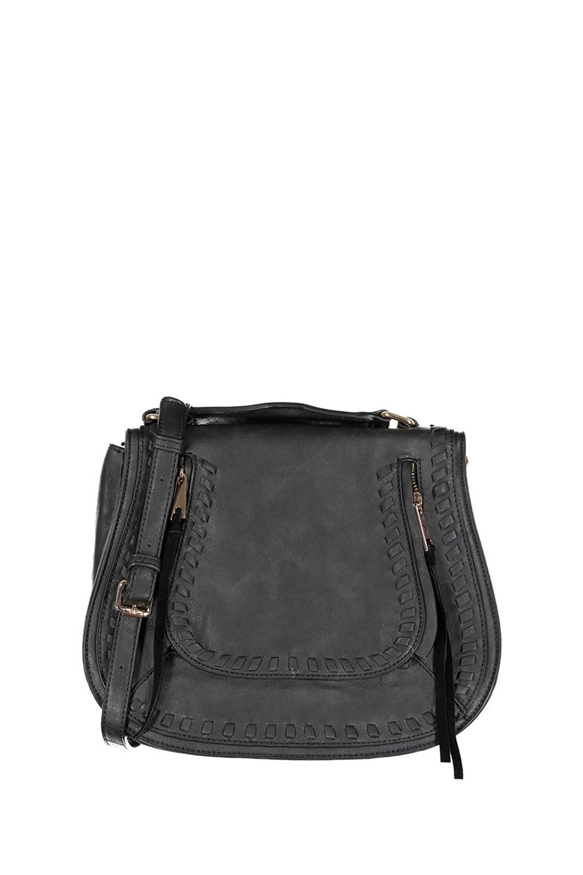 Women's Khloe Satchels Bag, Black
