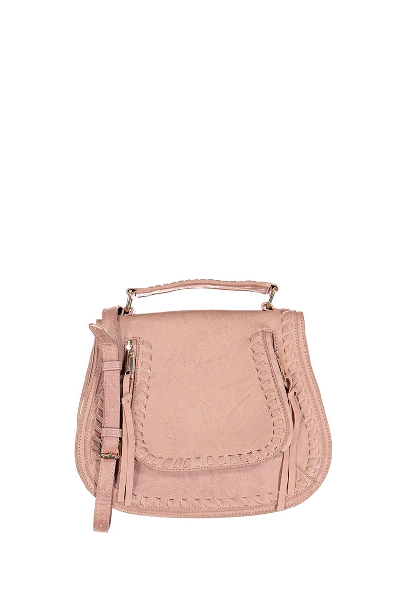 Women's Khloe Satchels Bag, French Rose