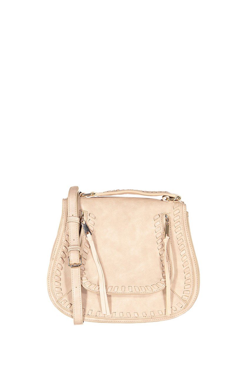 Women's Khloe Satchels Bag, Natural