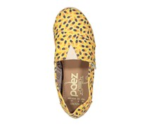 Paez Maracuy Fruits Print Flat Shoes, Yellow/Orange