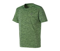 New Balance Toddler's Performance Short Sleeve Tee, Lime Green/Gray