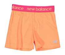 New Balance Girls Graphic Shorts, Light Orange