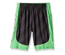 New Balance Performance Logo Panel Short, Thunder/Black/Cactus