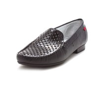 Marc Joseph New York Womens Green St Leather Closed Toe Loafers, Black