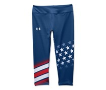 Under Armour Girls Country Pride Leggings American, Blue
