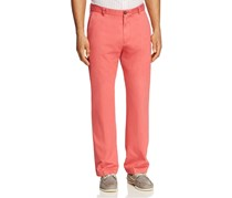 Southern Tide The Skipjack Classic Fit Pants, Charlestone Red
