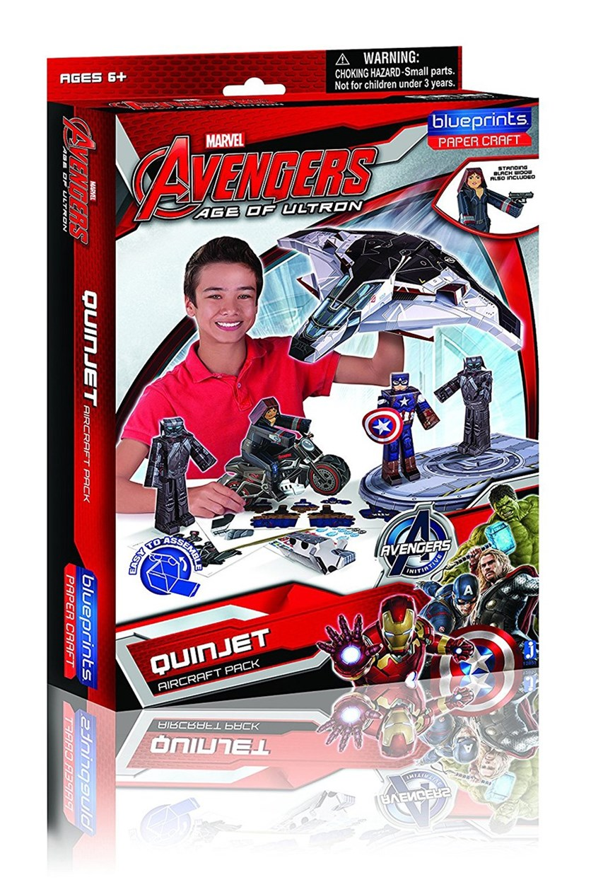 Marvel Age of Ultron Vehicle Pack, Red