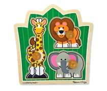 Melissa and Doug Knob Puzzle Safari Friends