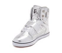 Vlado Girls Atlas II Athletic Shoe, Silver/White