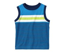 Crazy 8 Toddlers Stripe Tank Top,True Blue