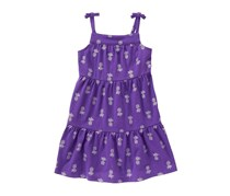 Crazy 8 Baby Girls Shimmer Pineapple Dress, Plum