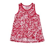 Crazy 8 Girls Floral Tank Top, Red Rose
