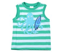 Gymboree Stripe Octopus Tank, Green
