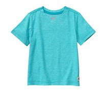 Crazy 8 Baby Boys Micro Stripe V-Neck Tee, Blue