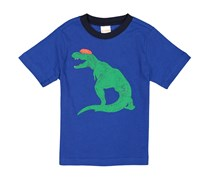 Gymboree Dinosaur Graphic Tee, Blue