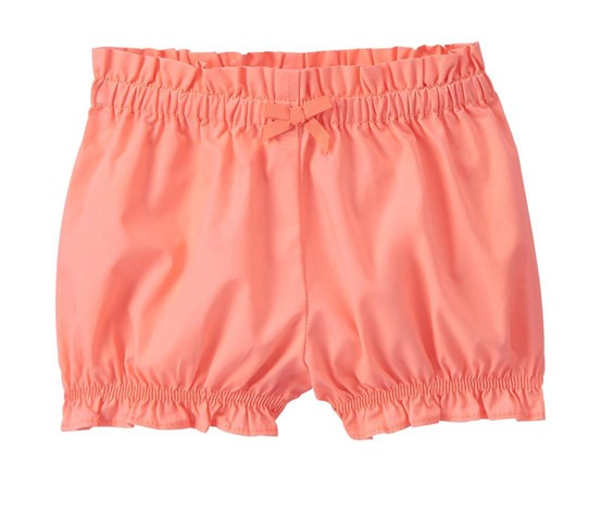 ca51add59beb7 Gymboree Little Girls Ruffle Shorts, Neon Coral - Brands For Less