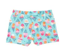 Toddlers Ice Cream Shorts, Sky Blue