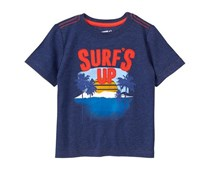 Crazy 8 Baby Boys Surf's Up Tee, Navy Blue