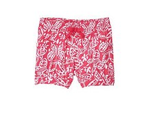 Crazy 8 Toddler Butterfly Shorts, Raspberry