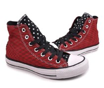 Converse Chuck Taylor All Star Sneakers, Unisex, Black-Red