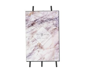 Isaac Jacobs Vertical Easel Picture Frame 10cm x 15cm, Black