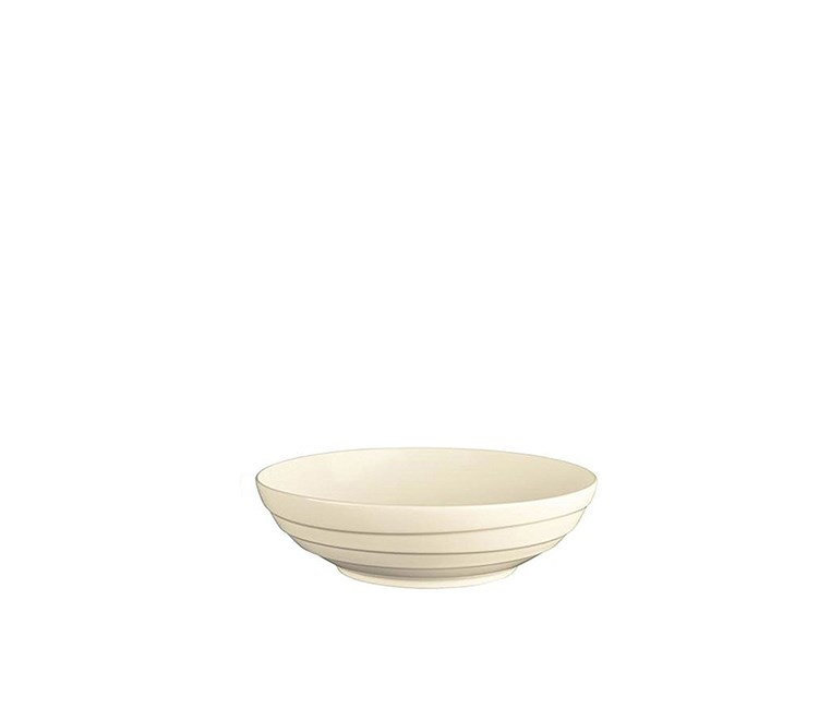 Waves Coupe Shape Bowl, Off White