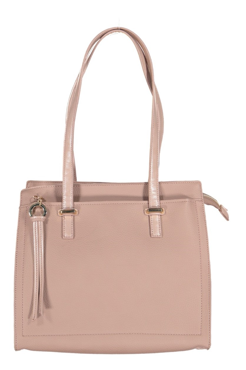 Juliette Vegan Leather Tote Bag, Blush