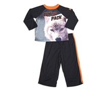 Animal Planet Run With The Pack Sleepwear, Black