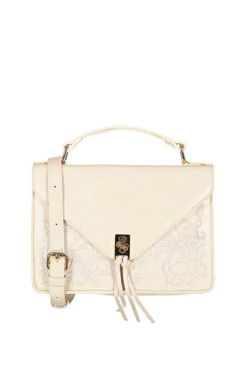 Bianca Crossbody Bag, Cream