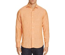 Haspel Oak Classic Fit Button-Down Shirt, Amber
